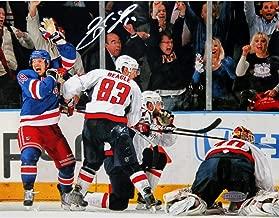 Steiner Sports NHL New York Rangers Brad Richards Game Tying Goal vs. Washington Capitals 8x10 Photo