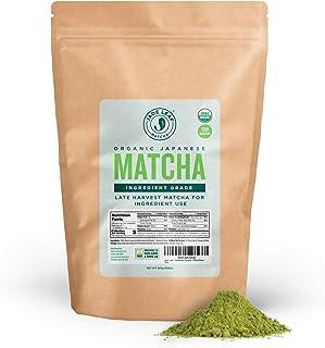 Jade Leaf - Organic Japanese Matcha Green Tea Powder, Ingredient Grade (8.8 Ounce)