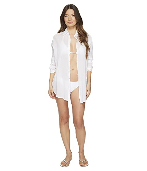 Letarte Button Front Beach Shirt