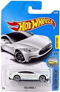 Hot Wheels 2017 Factory Fresh Tesla Model S 175/365, White