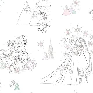 RoomMates Disney Frozen Peel and Stick Wallpaper