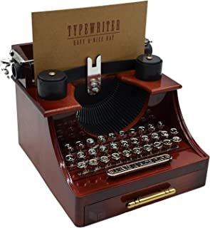 MAYMII Vintage Typewriter Music Box for Home/Office/Study Room Décor Decoration