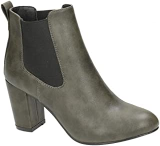Anne Michelle Womens/Ladies Heeled Ankle Boots