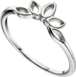 元素银女式925纯银戒指–尺码 N az-r359954