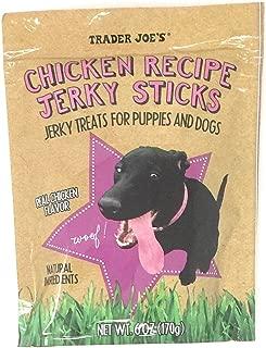 Trader Joe's Chicken Recipe Jerky Sticks 6 Oz.