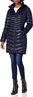 womens Walker Packable Jacket With Hood and Stand Collar