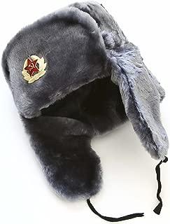 Hat Russian Soviet Army Air force Fur Military Ushanka * GR * Size XXXL