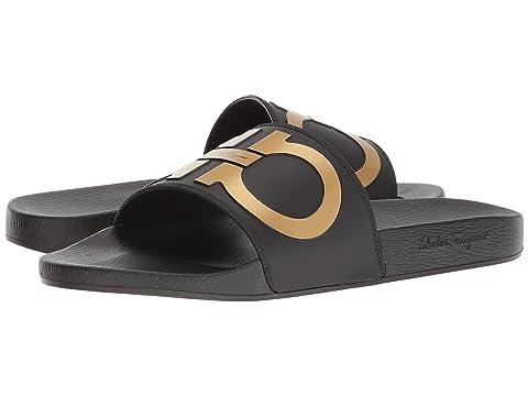 8b450546c502 Salvatore Ferragamo Groove 2 Sandal at Luxury.Zappos.com
