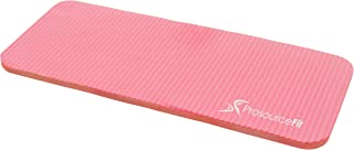 "(Pink) - ProSource Extra Thick Yoga Knee Pad and Elbow Cushion 15mm (5/8"") Fits Standard Mats for Pain Free Joints in Yoga, Pilates, Floor Workouts"