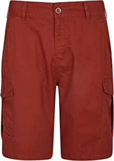aa0afe4a18 Mountain Warehouse Lakeside Mens Shorts - 100% Durable Twill Cotton Cargo  Shorts, Durable Summer