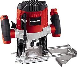 Einhell TC-RO 1155 E - Fresadora, 1100 W, 230 V, 7 niveles de fresado, control electrónico