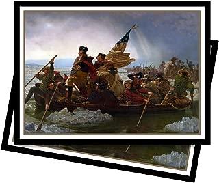 Ultra PRO Fine Art Series Washington Crossing The Delaware Standard Deck Protector Sleeves (65 ct.)