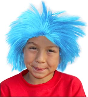 Costume Adventure Colorful Frizzy Character Costume Wig