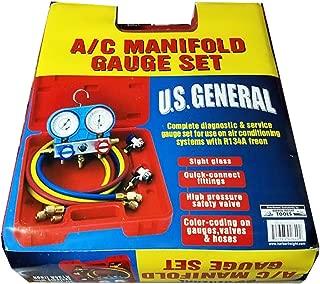 US General 92649 A/C Manifold Gauge Set