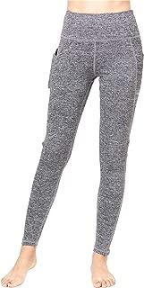 J&DHUASHA Women's Yoga Pants with Pockets Outdoor Workout Leggings