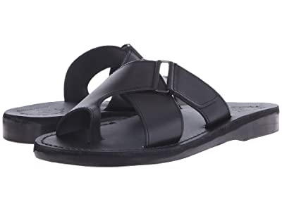 Jerusalem Sandals Asher Mens (Black) Men