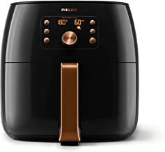 Philips Premium Collection Air Fryer XXL for Fry/Bake/Grill/Roast/Reheat with Smart Sensing, Fat Removal and Rapid Air Tec...