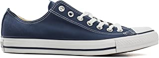 Converse Chuck Taylor Stars Low Top Baskets Mode - Bleu - Blu Marina, 41 EU