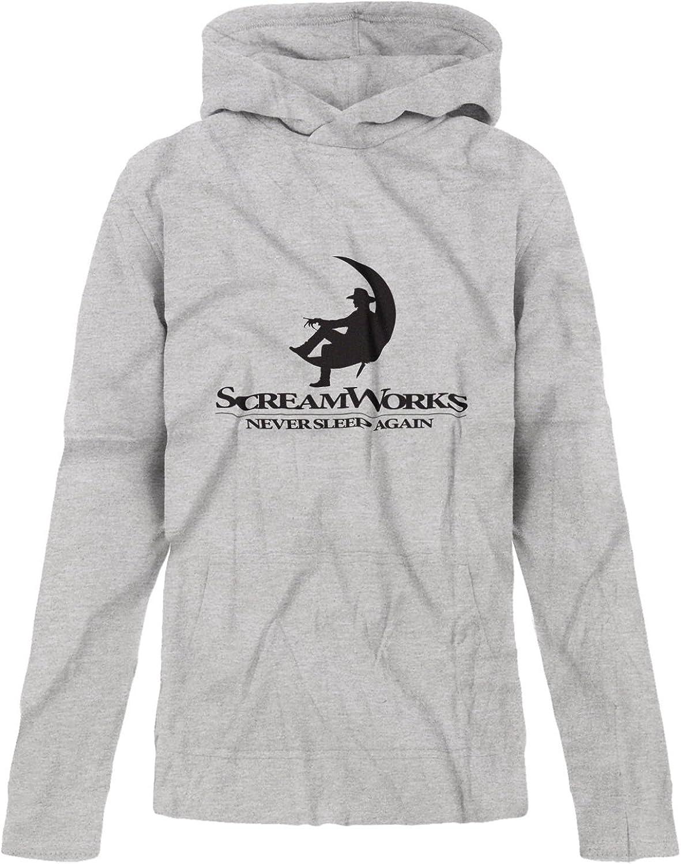 BSW Youth Girls ScreamWorks Freddy Horror Movie Premium Hoodie