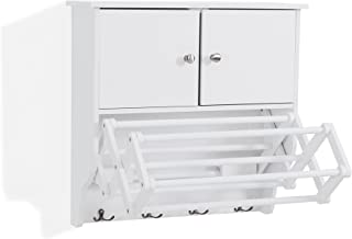 clothes dryer with drying cabinet