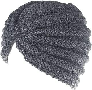 ♫Women Fashion Solid Manual Wool Knitted Earmuffs Hats Winter Keep Warm Girls Caps