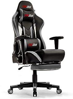 IntimaTe WM Heart Gamingstoel, gaming stoel, van kunstleer, gaming stoel met voetensteun, ergonomische computerstoel, draa...