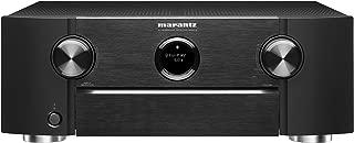 Marantz SR6012 9.2 Channel Full 4K Ultra HD Network AV Surround Receiver with HEOS, Black