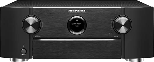 Marantz SR6012 9.2 Channel Full 4K Ultra HD Network AV Surround Receiver with HEOS, Black