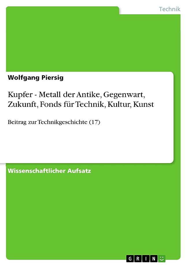 スタッフイヤホン流体Kupfer - Metall der Antike, Gegenwart, Zukunft, Fonds für Technik, Kultur, Kunst: Beitrag zur Technikgeschichte (17) (German Edition)