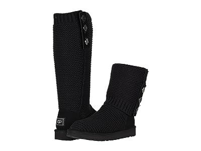 UGG Purl Cardy Knit (Black) Women