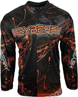 HEYBERRY Motocross MX Shirt Jersey Trikot schwarz orange Größe M