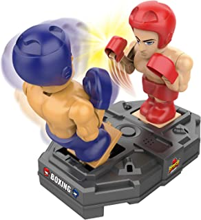 iPlay, iLearn Electronic Punching Boxing Game Toy, Cool Battle Board Game, RC Fighting Robots W/ Sounds, Hand Operated Spo...