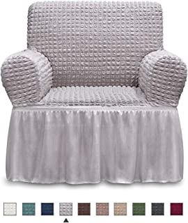 Best grey armchair covers Reviews