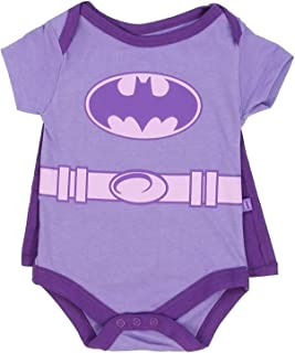 Infant Baby Girls Creeper Onesie Bodysuit Snapsuit with Cape