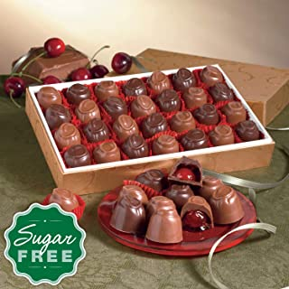 Sugar-Free Cherry Cordials from The Swiss Colony