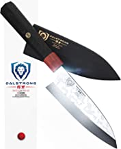 DALSTRONG Deba Knife - Shogun Series S - Single Bevel Knives - Japanese AUS-10V Super Steel - Damascus - 6