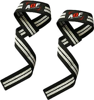 AQF Gewichtheffen Bandjes voor Gym, CrossFit niet-opgevulde Training Polssteun Bandjes Bodybuilding Powerlifting Fitness W...