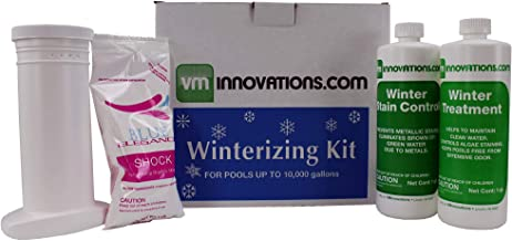 VMInnovations Swimming Pool Winterizing Chemical Treatment Closing Kit - Up to 10,000 Gallons