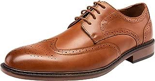Men's Dress Shoes Modern Brogue Oxford Business Wingtip Shoes