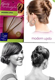 Pack of 9- Goody Simple Styles MODERN UpDo, Blonde/Light Hair