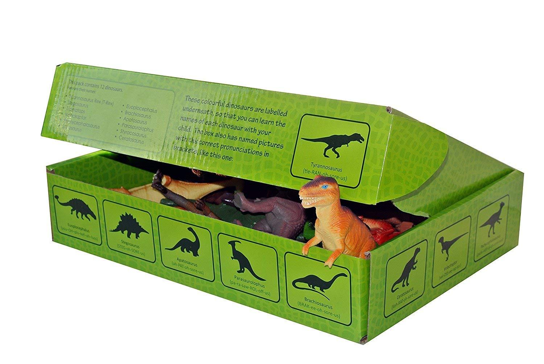 Dinosaurios de Juguete (15cm) conjunto de 12 Figuras Grandes de ...