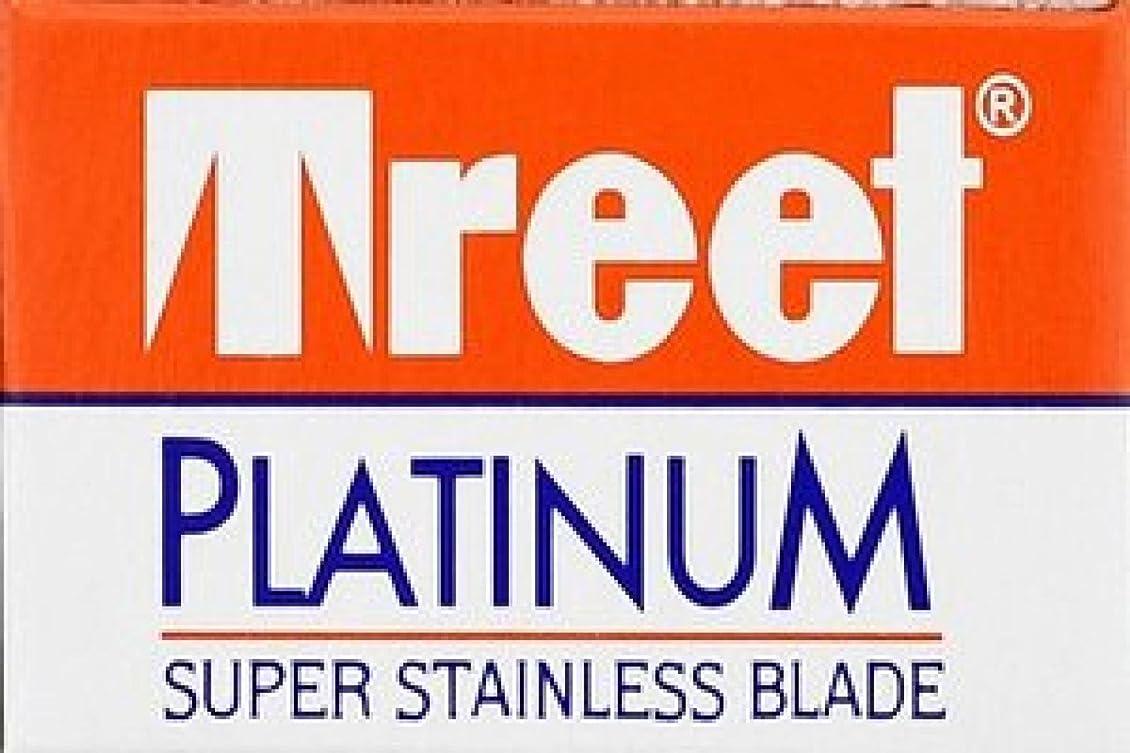 電話トンネルチームTreet Platinum 両刃替刃 10枚入り(10枚入り1 個セット)【並行輸入品】