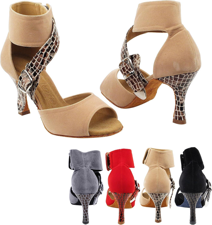 gold Pigeon shoes Party Party SERA7036 Comfort High Top Evening Dress Pump, Wedding shoes  Women Ballroom Dance shoes High-Medium Heel, Salsa, Tango, Latin, Swing Salsa Tango Swing Latin