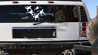Flying Ducks Vinyl Car Truck *E919* 13x18