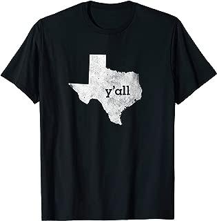 texas y all shirt