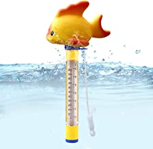 Floating Thermometer for Swimming Pool Swimming Pool Thermometer Bath Water Sporteed Floating Pool Thermometer Aquariums and Fish Ponds Spas,Hot Tubs