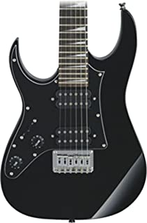 Best Ibanez GRGM 6 String Solid-Body Electric Guitar, Left, Black Night (GRGM21BKNL) Review