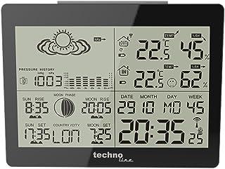 Technoline WS 6760ウェザーステーションwithブラッククロック
