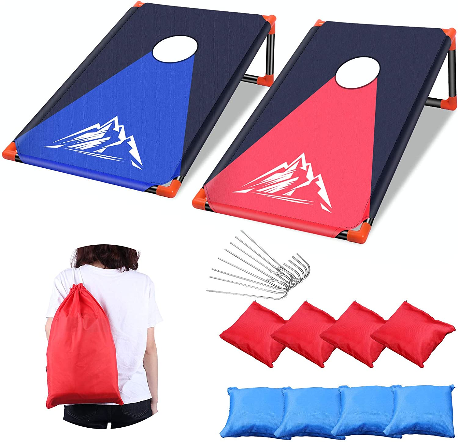 Portable Cornhole Sale special price New life Set Outdoor Toss with PVC Game Framed