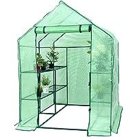 Superbuy 8 Shelves Portable Greenhouse for Garden, Patio, Backyard